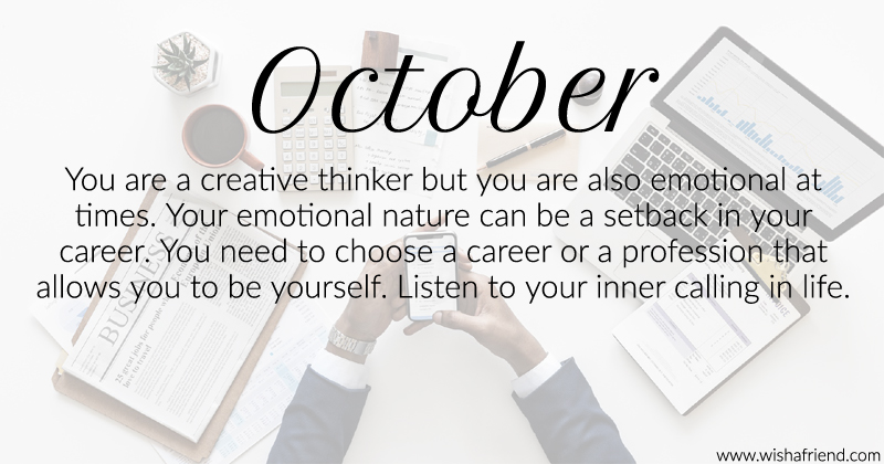 Genial What Does Month Of Birth October Say About Your Career?