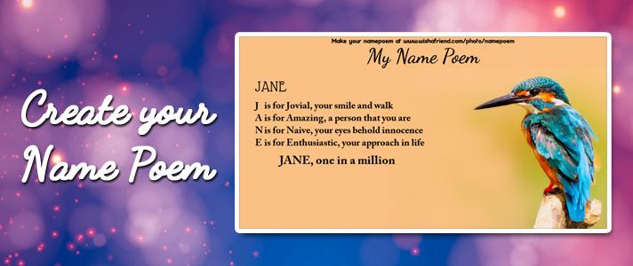 Fun Name Poem Make An Acrostic Name Poem For Fun