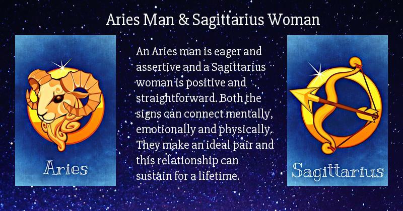 Sagittarius female hookup a sagittarius male