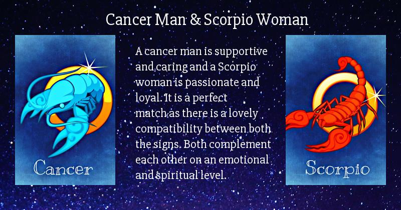 Cancer dating a scorpio girl names right! good