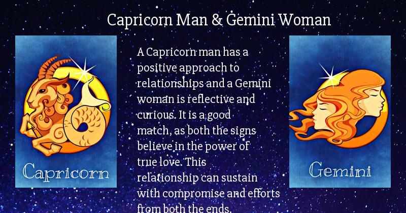 Capricorn-Mann aus gemini Frau Geruch von london