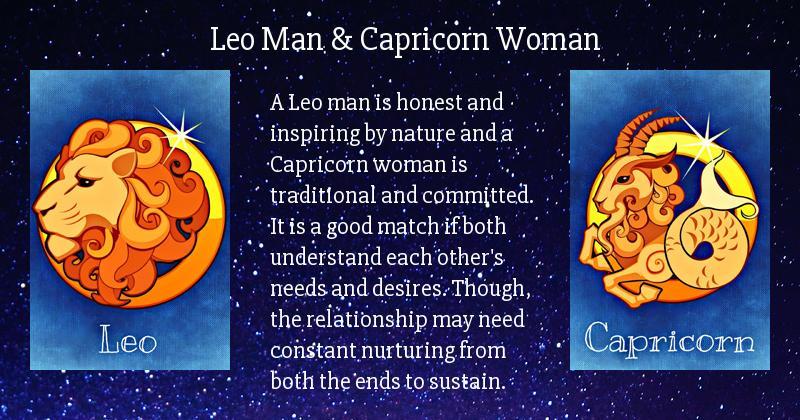 Capricorn aus leo man