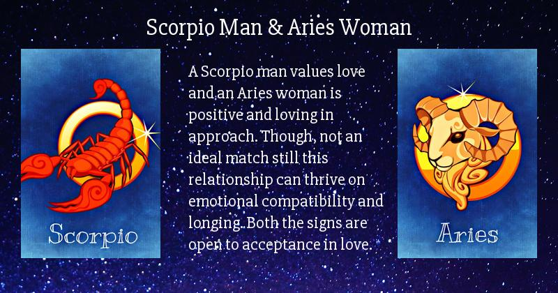 Aries woman and scorpio man compatibility
