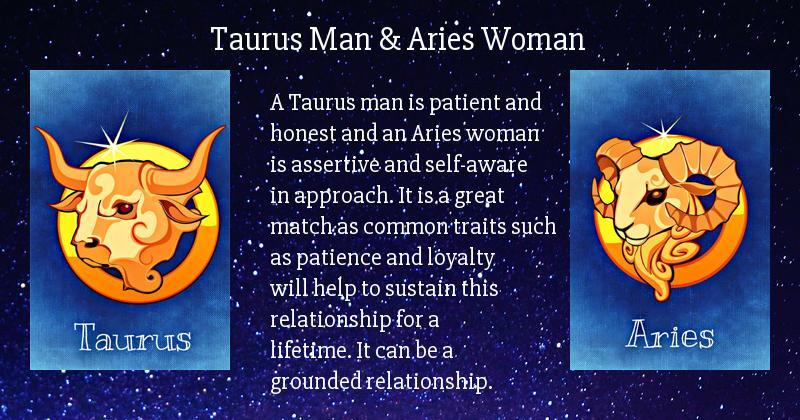 And relationship aries man taurus woman Aries Woman
