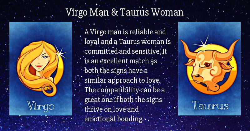 Friendship taurus virgo man woman Virgo Man